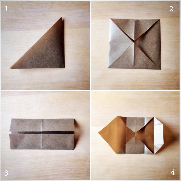 すべての折り紙 折り紙 おしゃれ 折り方 : 折り方は見ていただいた方が ...