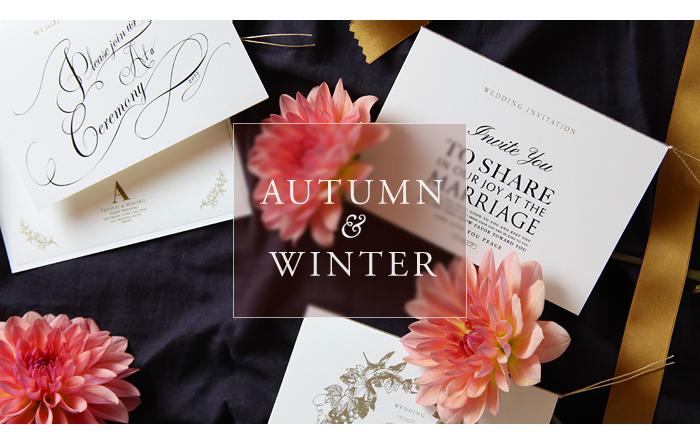 秋・冬向けの組み合わせ
