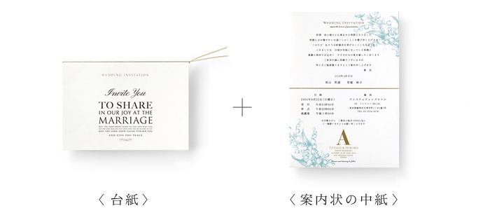 温もり手作り結婚式の招待状Mydesign