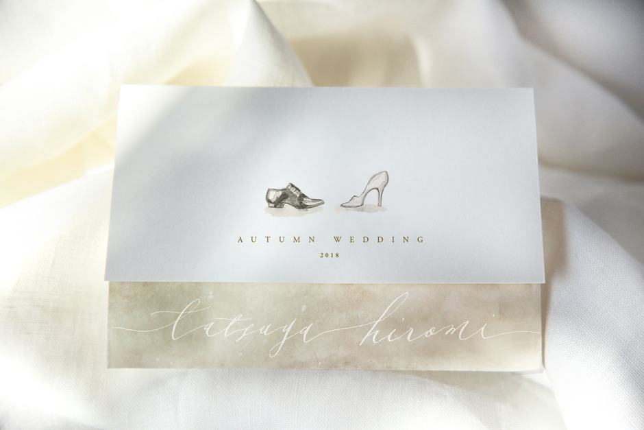 結婚式の招待状イメージ写真