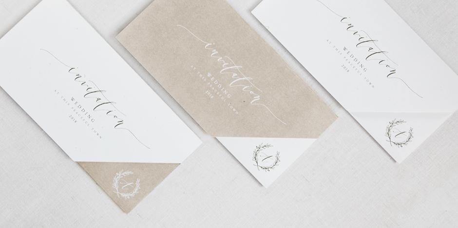送るひとにも、送られるひとにも、微笑みを。読むよろこびを大切にした結婚式の招待状。